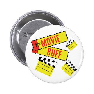 Movie Buff 6 Cm Round Badge