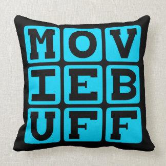 Movie Buff, Knower of Film Trivia Cushion