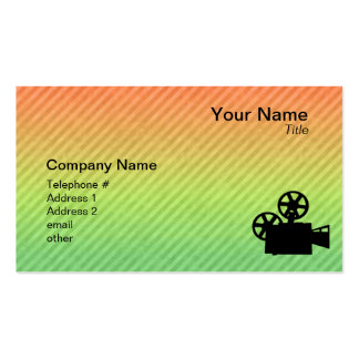Movie Camera Business Card Templates