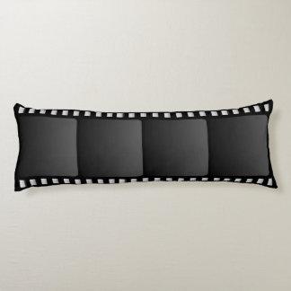 Movie Camera Film Strip Body Cushion