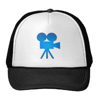 Movie camera movie camera mesh hat
