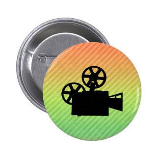 Movie Camera Pin
