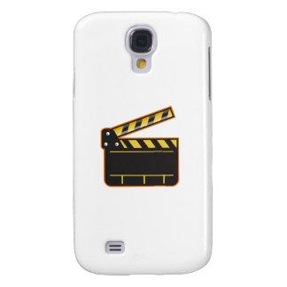 Movie Camera Slate Clapper Board Open Retro Samsung Galaxy S4 Case