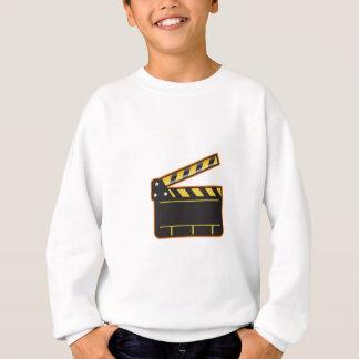 Movie Camera Slate Clapper Board Open Retro Sweatshirt