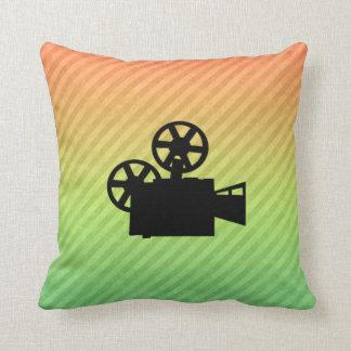 Movie Camera Throw Cushion