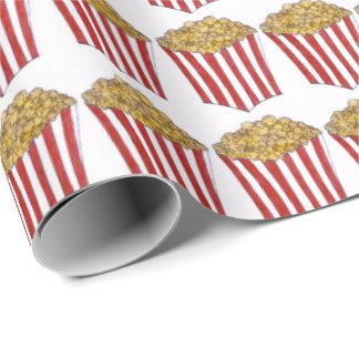 Movie Carnival Caramel Corn Popcorn Food Gift Wrap
