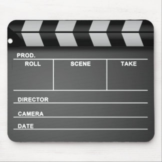 Movie Clapboard Mousepad
