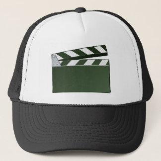 Movie Clapper Board Background Trucker Hat
