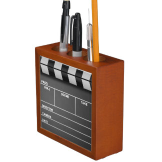Movie Clapper Board Desk Organizer Desk Organiser