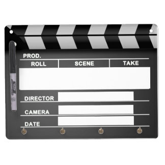 Movie Clapper Board Dry Erase-Board