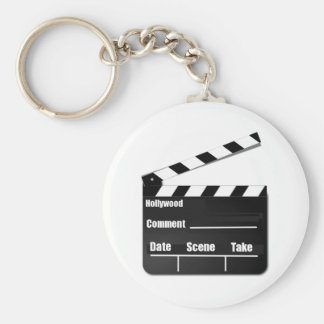 Movie Clapperboard Key Ring