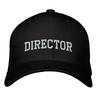 Movie director embroidered hat