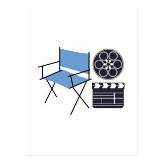 Movie Director Postcard