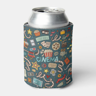 Movie Fan Cinema Theater Design Can Cooler