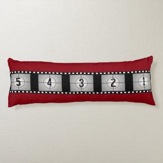 Movie Film Strip Countdown Body Cushion