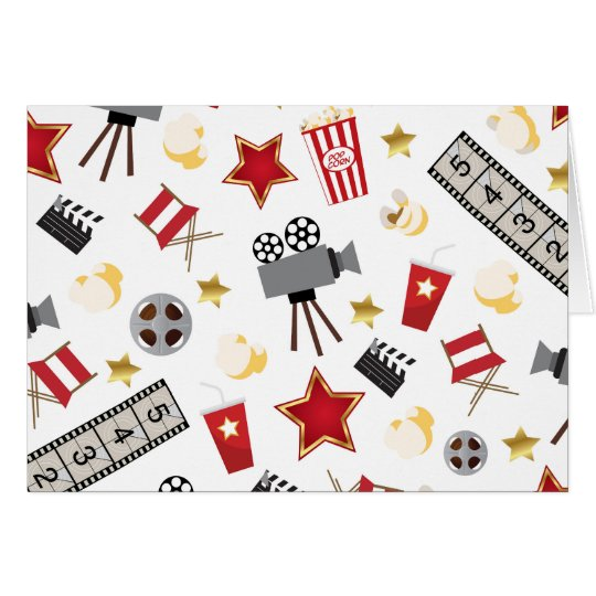 Movie Lover Pattern Card