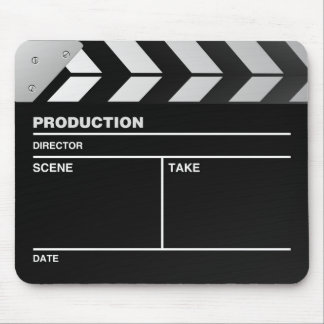 Movie maker Clapper board Mouse Pad