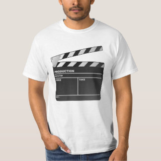 Movie maker Clapper board T shirt