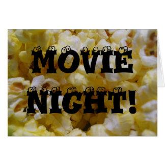 Movie Night! Card