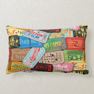 Movie Night Pillow — LUMBAR Throw Cushion