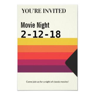 Movie Night Retro 1980s VHS Video Tape Invite