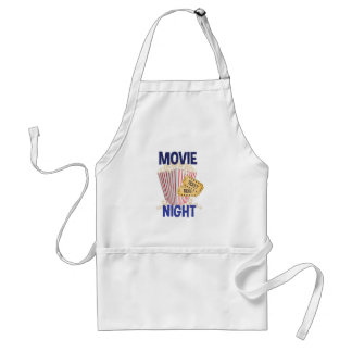 Movie Night Standard Apron