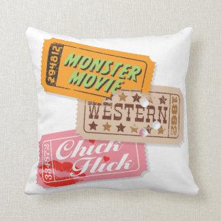 Movie Night Trio Pillow — SQUARE Throw Cushions