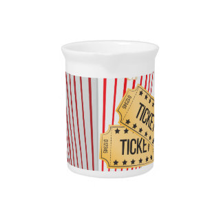 Movie Popcorn Beverage Pitchers