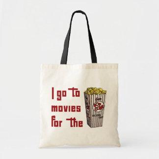 Movie Popcorn Tote Bag