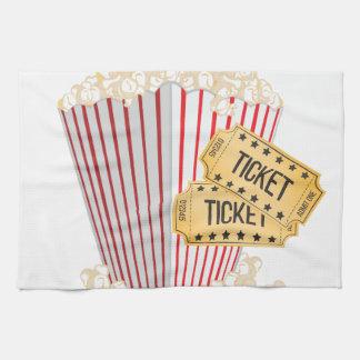 Movie Popcorn Towels