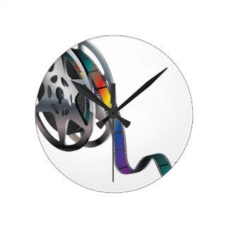 Movie Reel Clock