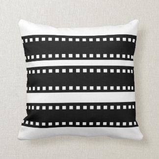 """Movie Reels"" Throw Pillow"