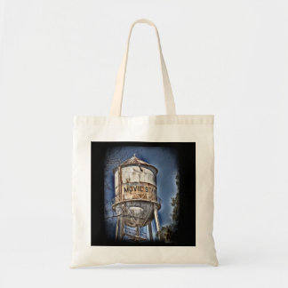 Movie Star Water Tower Tote Bag