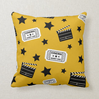 Movie Theater room home decor pillow