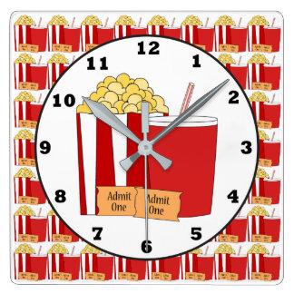 Movie Theater room wall clock