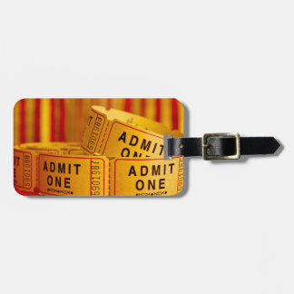 Movie Time! Luggage Tag