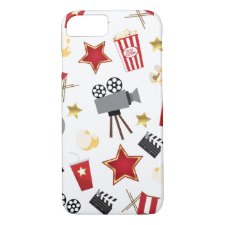 Movie Time Pattern iPhone 7 Case