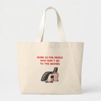 movies canvas bag