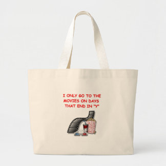 movies canvas bags