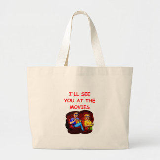 MOVIES LARGE TOTE BAG