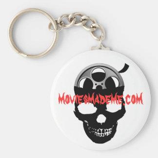 Movies Made Me Keychain