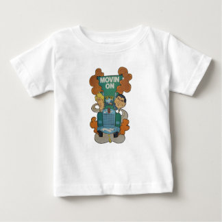 Movin' On Kiddie Caricature Baby T-Shirt