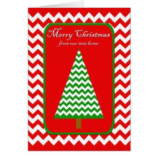 Moving Christmas Card - Change of Address