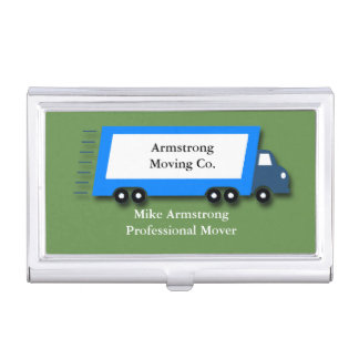 Moving Company Moving Truck Mover Business Card Holder