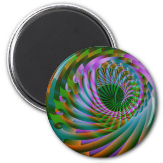 moving inward 6 cm round magnet