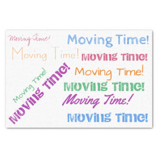 Moving Time Tissue Paper