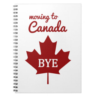 Moving to Canada Notebook