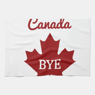 Moving to Canada Tea Towel