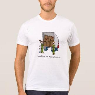 Moving Truck Men Shirt