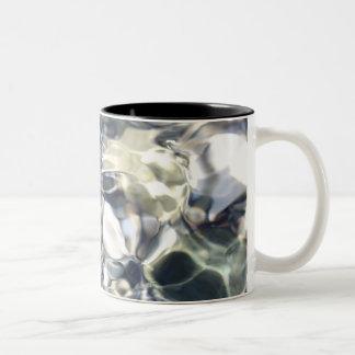 Moving Water Two-Tone Coffee Mug